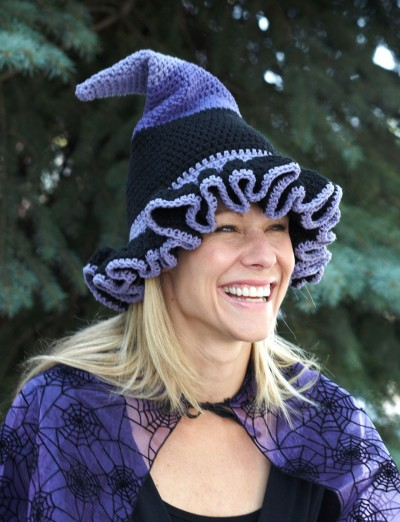 Witch or Wizard Hats Free Halloween Crochet Patterns