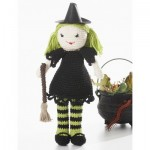 Witchy Lily Doll Free Crochet Pattern