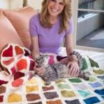 Colorwheel Afghan Free Crochet Pattern