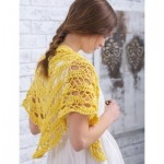 Wrapster Shawl Free Lace Crochet Pattern