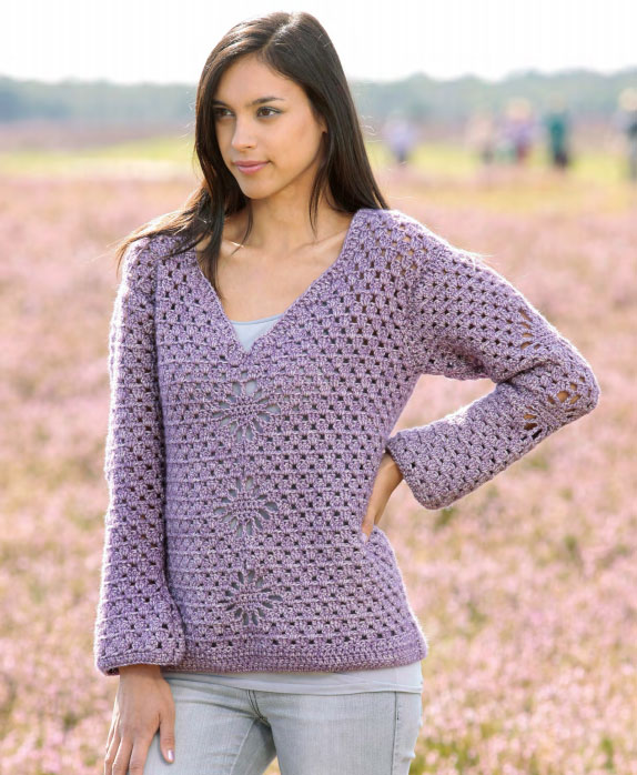 Dartmouth crochet sweater pattern ⋆ Crochet Kingdom