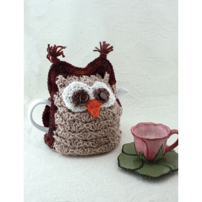 Patons Whoo Wants Tea Tea Cozy Crochet Kingdom