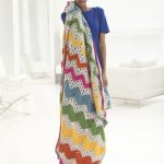 How To Make A Ripple Rainbow Afghan in Crochet