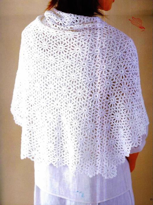 Circular Shawl Motif Crochet Kingdom