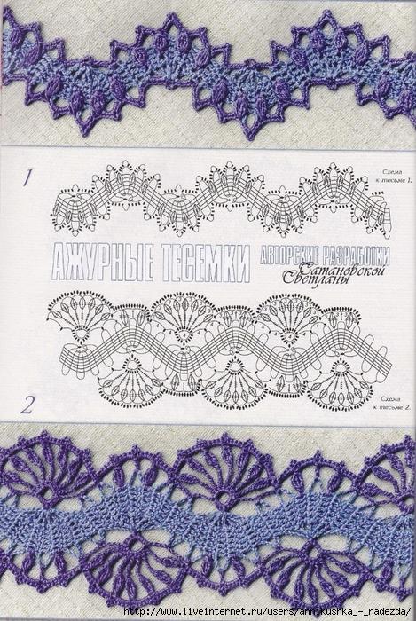 Crochet Lace Edgings Crochet Kingdom