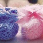 Adorable Baby Booties Free Crochet