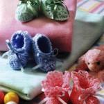 3 Cute Baby Booties to Crochet