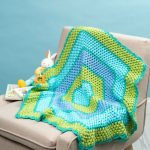 Beach Time Hexagon Blanket Free Crochet Pattern