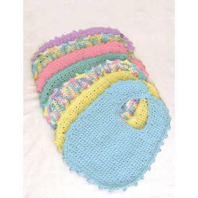 Bernat Handicrafter Cotton - Bibs & Booties (crochet)
