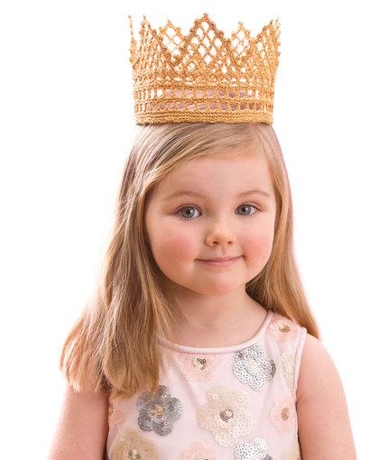 Child's Royal Crown Free Crochet Pattern
