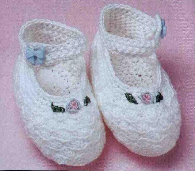 Dress Baby Booties