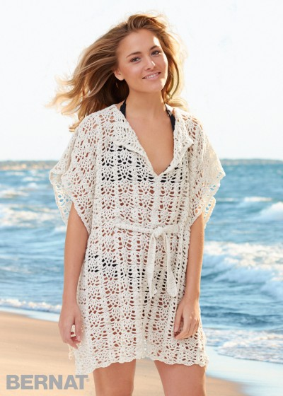 Free Crochet Beach Cover-Up Pattern
