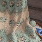Grannies and Ripples Afghan Free Crochet Pattern