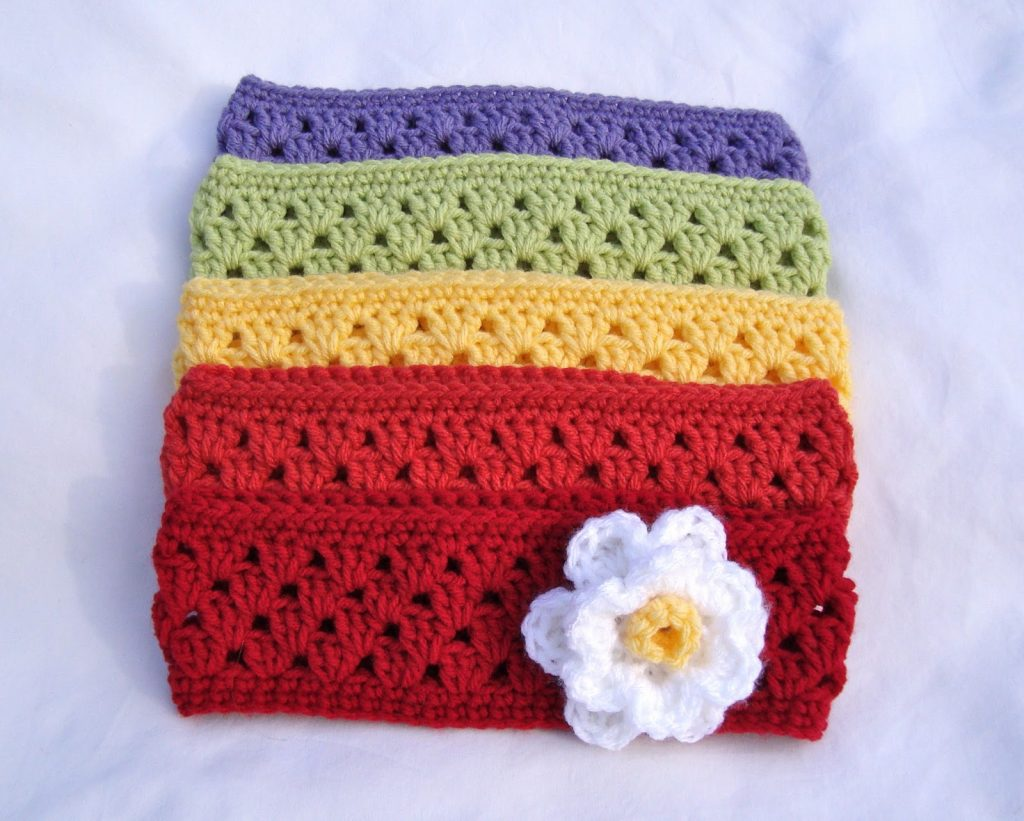 Granny Stripe Headband Earwarmer