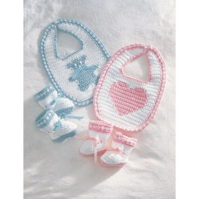Lily Sugar 'n Cream Sweetheart or Teddy Set Free Crochet Pattern