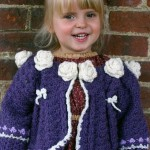 Little Princess Sweater Free Crochet Pattern