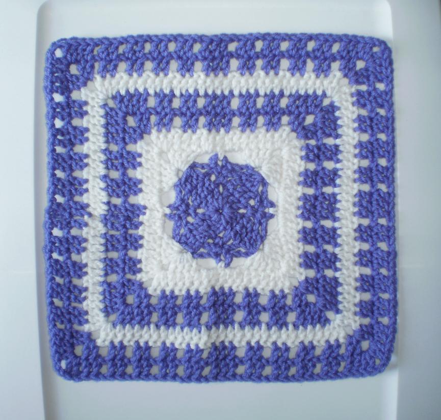 Majesty Square 12 Crochet Square Pattern Crochet Kingdom