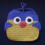 Owl Bib Free Crochet for Baby