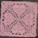 "Pammi's Passion 12"" Crochet Square Pattern"