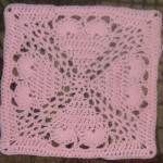 "Pammi's Passion 12"" Crochet Square Pattern"