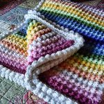 Pattern for Rainbow Blanket Free Crochet