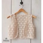 Seashell Crochet Vest Free Pattern