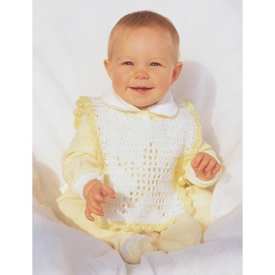 Star Baby Bib Free Crochet Pattern