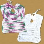 Very Easy Crochet Bib Pattern Free