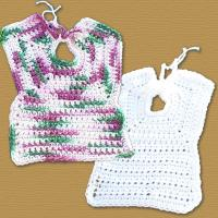 Very Easy Crochet Bib Pattern Free