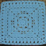 "Winter Dream 12"" Crochet Square Pattern"