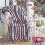 Mile a Min Afghan Crochet Pattern