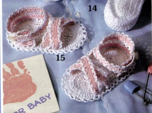 Cute baby Girl Crochet Sandals