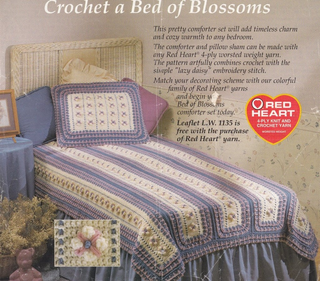 Crochet A Bed Of Blossoms Kingdom Trippy Hippy Afghan Pattern