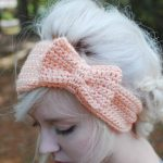 Bow headband tutorial free crochet pattern