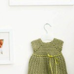 Baby Girl Pinafore Dress Free Crochet Pattern