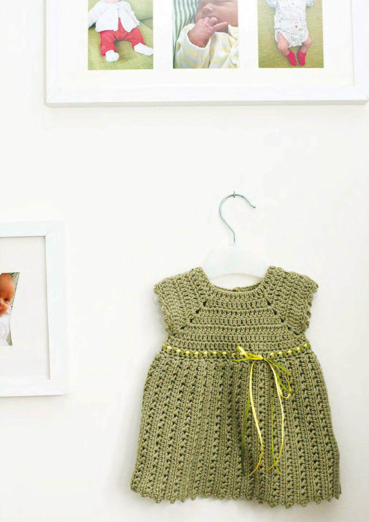 Baby Girl Pinafore Dress Free Crochet Pattern ⋆ Crochet