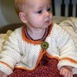 Crochet Baby Sweater/Cardi