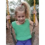 Avalon Summer Fun Cotton Tank Free Crochet