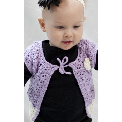 Baby Blossom Cap Sleeve Cardi  1