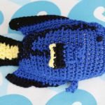 Crochet Blue Tang Fish