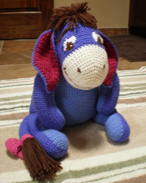 Eeyore Amigurumi Pattern ⋆ Crochet Kingdom