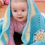 Hexagon Baby Blanket Free Crochet Pattern