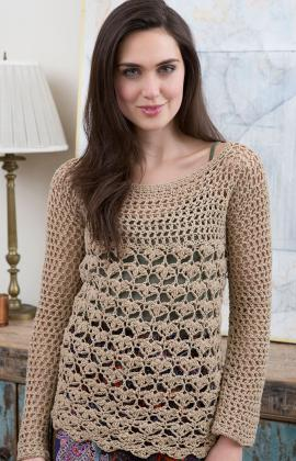 Top 10 Free Crochet Pattern Websites : Lacy Top Crochet Pattern ? Crochet Kingdom