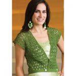 Leaves of Summer Vest Free Crochet Pattern