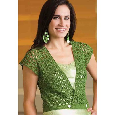 Leaves of Summer Vest Free Crochet Pattern