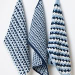 Linen Blend Crochet Tea Towels