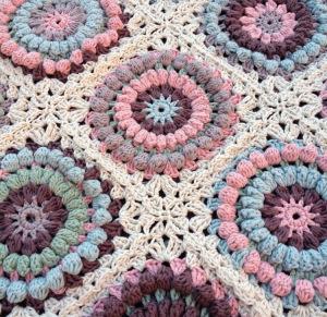 Mom's square crochet