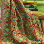 Peruvian tile afghan crochet