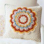 Petal Pillow Vintage Crochet Style
