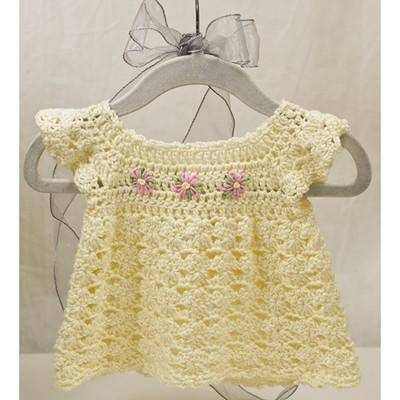 Precious Pinafore Free Crochet Pattern